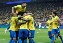 Brezilyadan Peruya tam 5 gol