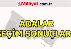 Adalar seçim sonuçları ve oy oranları   İstanbul Belediye Başkanlığı seçim sonuçları