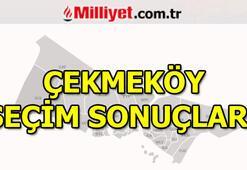 23 Haziran Çekmeköy seçim sonuçları ve oy oranları (İstanbul Yerel Seçimleri)