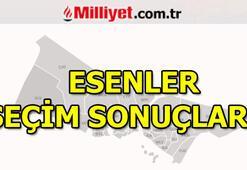 23 Haziran Esenler seçim sonuçları ve oy oranları (İstanbul Yerel Seçimleri)