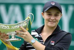 Kadın tenisinde zirvenin yeni sahibi Barty