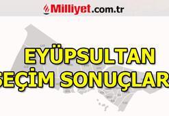 23 Haziran Eyüpsultan seçim sonuçları ve oy oranları (İstanbul Yerel Seçimleri)