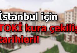 İstanbulda TOKİ kura çekilişi ne zaman TOKİ tarihleri duyurdu