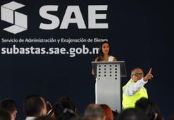 Meksikada uyuşturucu kartellerinin kaçış tünelli villaları açık artırmada