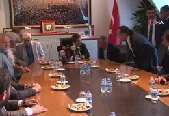 Bursasporda Başkan Mesut Mestan ve yeni yönetim mazbatasını aldı
