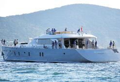 20 milyon euro'luk lüks yat denize açıldı