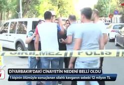 Diyarbakırdaki cinayetin nedeni belli oldu