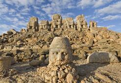 Nemrut Dağına turistlerden büyük ilgi
