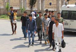Hatayda 80 düzensiz göçmen yakalandı