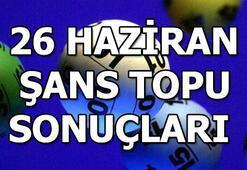 Şans Topu sonuçları açıklandı (26 Haziran MPİ Şans Topu çekiliş sonuç sorgulama ekranı)