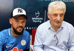 Çaykur Rizesporda Moroziuk sözleşme imzaladı