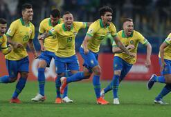Brezilya penaltılar sonunda yarı finalde: 4-3