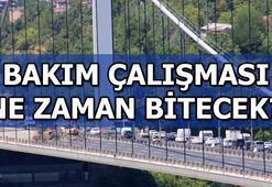 FSM Köprüsündeki bakım çalışması ne zaman bitecek