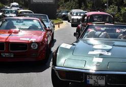 Klasik otomobiller rallide boy gösterdi