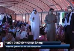 Terör örgütü YPG/PKK isyanı