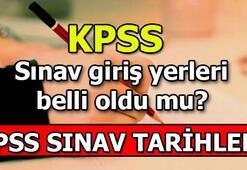 KPSS sınav giriş yerleri belli oldu mu KPSS Genel Kültür-Eğitim Bilimleri - ÖABT)
