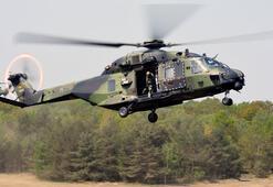 Son dakika... Almanyada helikopter düştü