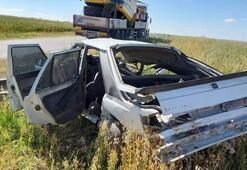 Çok acı 7 aylık bebek hastaneye götürülürken kazada öldü