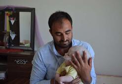 1 yaşındaki Yunus Emrenin yürek burkan dramı