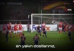 Medipol Başakşehirden Emre Belözoğluna veda klibi