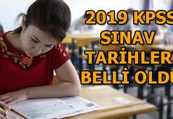 2019 KPSS ne zaman gerçekleştirilecek KPSS A Grubu ve Öğretmenlik tarihi
