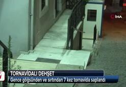İstanbul'da tornavidalı dehşet