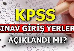 KPSS sınav giriş yerleri belli oldu mu 2019 KPSS sınav tarihleri