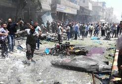Suriyenin kuzeyindeki Babda eş zamanlı patlamalar