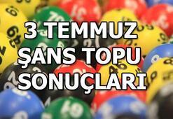 Şans Topu sonuçları açıklandı (3 Temmuz MPİ Şans Topu çekiliş sonuç sorgulama ekranı)