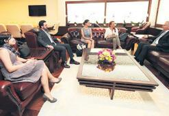 Başkan Zolan'a anlamlı ziyaret