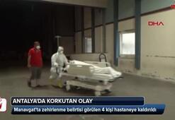 Zehirlenme belirtisi görülen 4 kişi hastaneye kaldırıldı