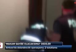 Ankarada dolandırıcılık operasyonu; 2 tutuklama
