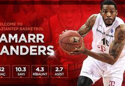 Jamarr Sanders, Gaziantep Basketbolda
