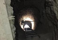 Evin ortası Tam 10 metre derinliğinde...