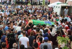Gözyaşları sel oldu... Yüzlerce kişi uğurladı