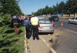 Kaza yapanın kimliği polisi şoke etti