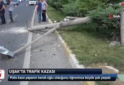 Uşakta trafik kazası