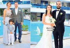 Alaçatı'da başladı nikahla taçlandı