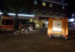 Araçtan düşen paketi hastaneye götürdü AFAD harekete geçti