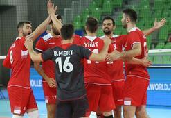 Türkiye set vermedi Yarı final coşkusu...