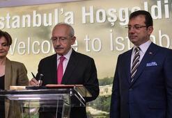 Kılıçdaroğludan İBBye ziyaret