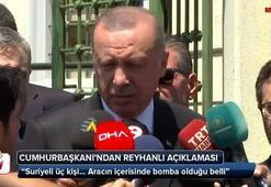 Cumhurbaşkanı Erdoğandan Reyhanlıdaki patlamaya ilişkin ilk açıklama