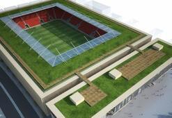 Göztepenin yeni stadının kapasitesi 30 bin 35...