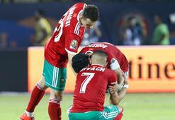 Fas, penaltılarda yıkıldı 2 gol, 1 krımızı kart...