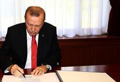 Cumhurbaşkanı Erdoğandan atama kararları