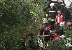 TEMde feci kaza Bir kişi hayatını kaybetti