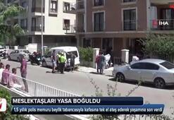 Muğlada polis memuru intihar etti