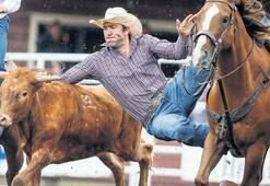 Kovboyların vahşi atlarla imtihanı