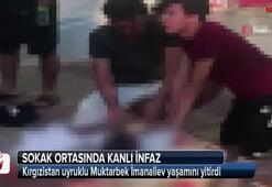 Antalyada sokak ortasında kanlı infaz