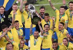 Copa Americada Brezilya şampiyon oldu